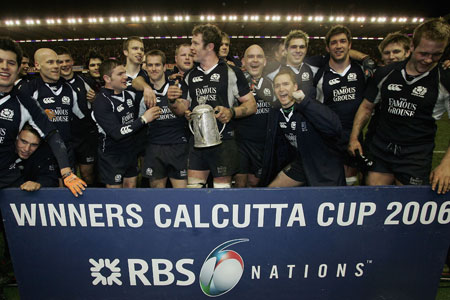 Paterson on target as Scots lift Calcutta Cup