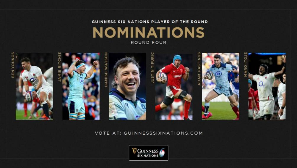 Guinness Six Nations Player of the Round
