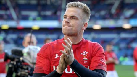 Gareth Anscombe is back on the rugby pitch