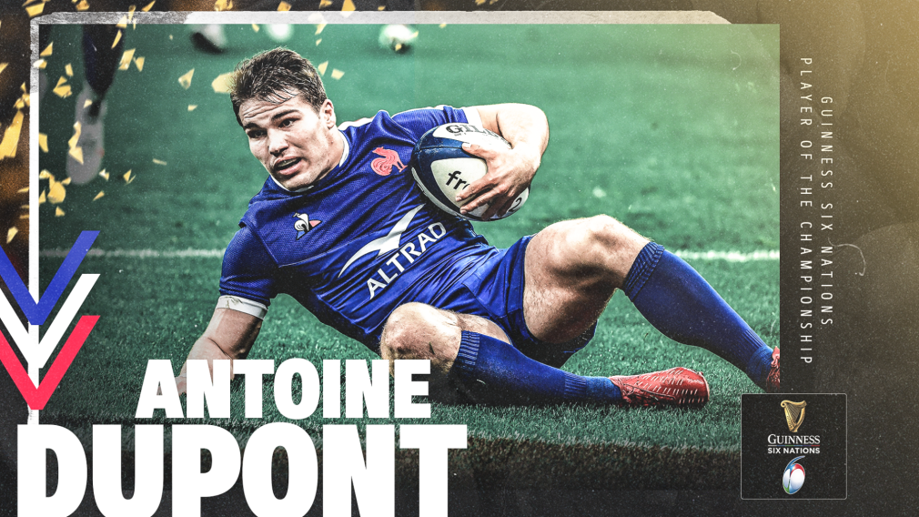 Antoine Dupont crowned 2020 Guinness Six Nations Player of the Championship