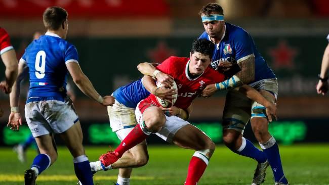 Wales star winger Louis Rees-Zammit