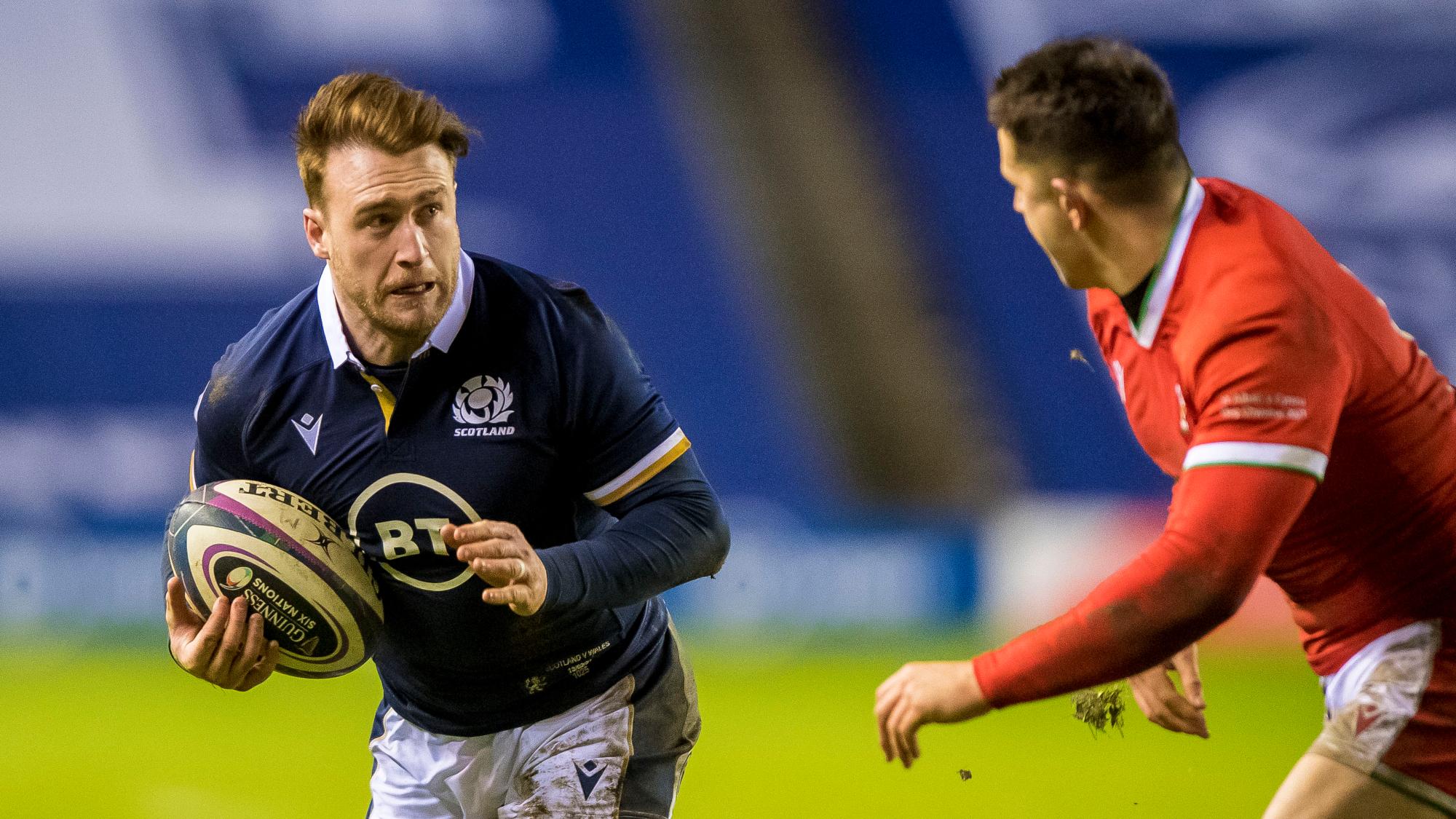 Stuart Hogg Ecosse discipline