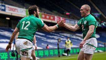 Robbie Henshaw Irlande