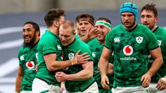 Keith Earls Irlande Angleterre Essai