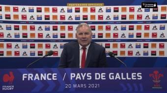 Wayne Pivac's post-match press conference after France v Wales