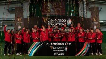 Wales 2021 Guinness Six Nations champions