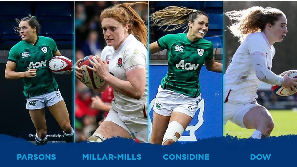 Votez pour le meilleur essai de la deuxième journée du Tournoi des Six Nations féminin