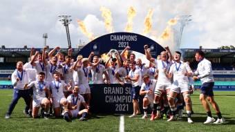 England seal Grand Slam glory with Italy win