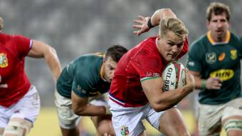 British & Irish Lions mount second-half comeback to stun South Africa and win first Test