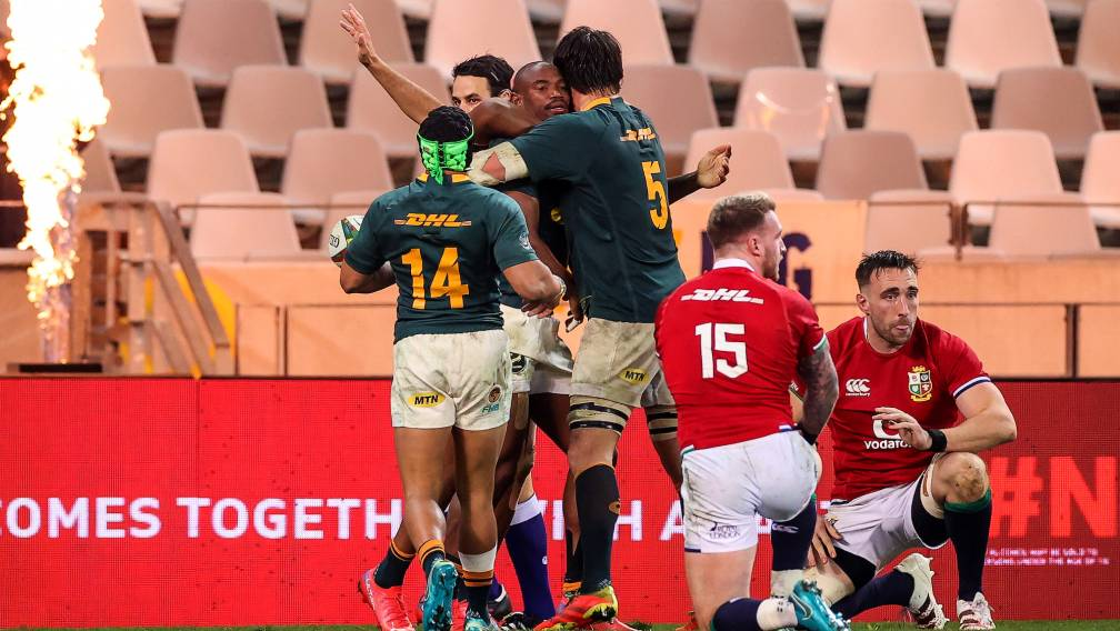 South Africa overpower Lions in second Test to set up series decider