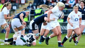 England's Bryony Cleall signs for Wasps after leaving Saracens
