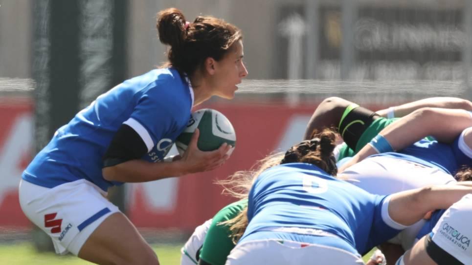 Sara Barattin Italy 100 caps