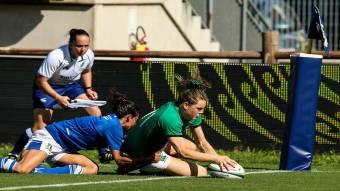 Beibhinn Parsons touches down for Ireland